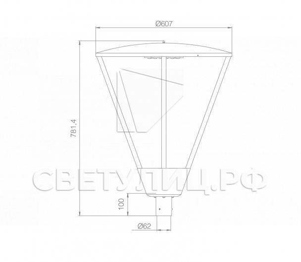 Светодиодный уличный светильник Оккервиль LED 1