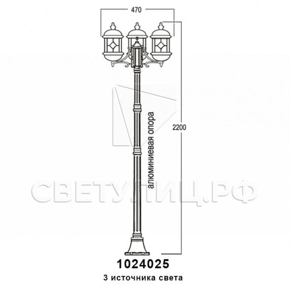 Садово-парковые светильники 1024 в Актобе 14