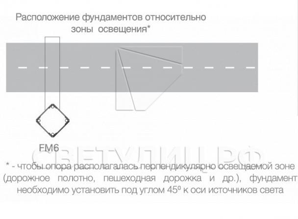 Металлическая светодиодная система уличного освещения Тверь 150 11