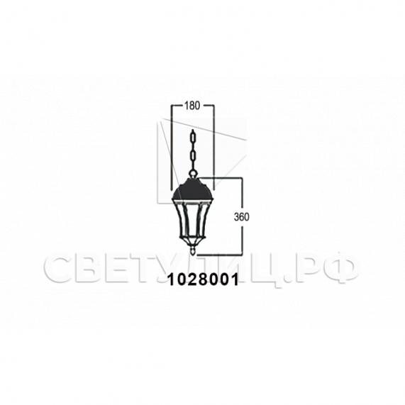 Садово-парковые светильники 1028, 2047 8