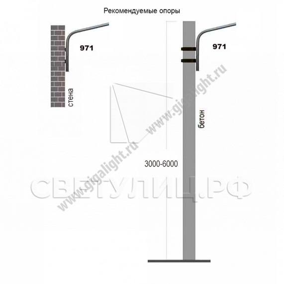 Садово-парковые светильники 120 Вт - 3836 2