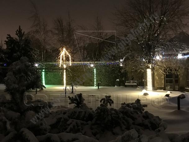 Садово-парковые светильники гибкая светодиодная лента 1