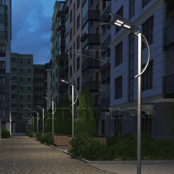 Уличная светодиодная система освещения ПАРУС в Актобе 3