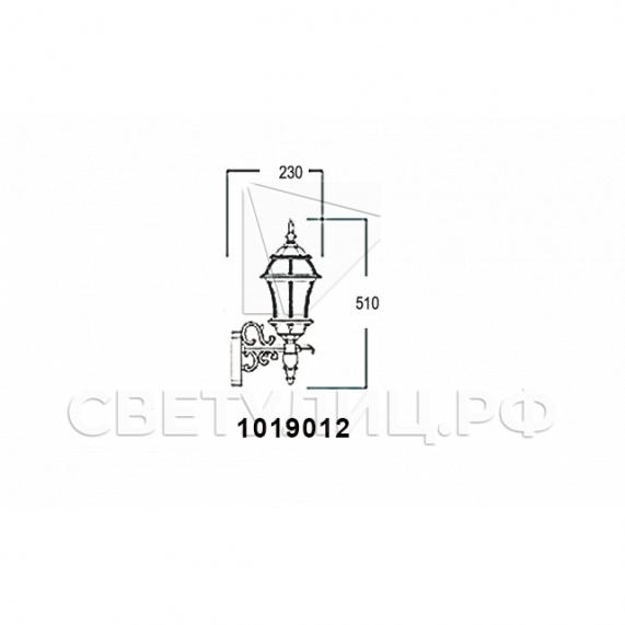 Садово-парковые светильники 1019, 2045 8