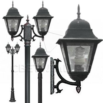 Садово-парковые светильники 1002, 1009, 2039, 2189 0