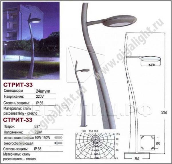 Садово-парковые светильники 3200 в Актобе 3