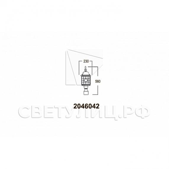 Садово-парковые светильники 1022, 2046 23