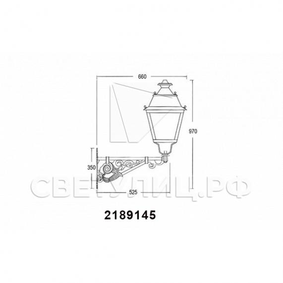 Садово-парковые светильники 1002, 1009, 2039, 2189 40