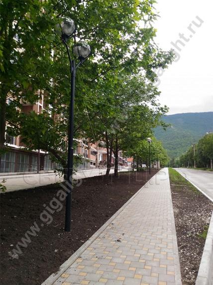 Садово-парковые светильники 3171 (d=400) 5